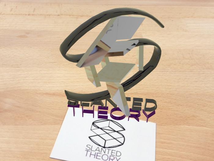 Slanted Theory AR logo